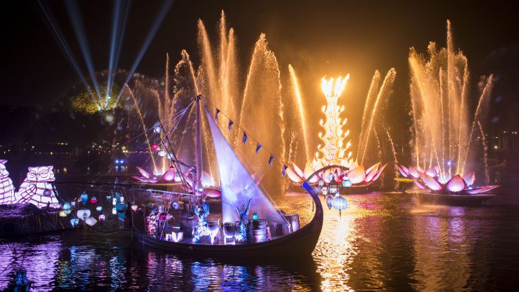 disneys animal kingdom new nighttime show rivers of light