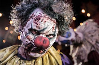halloween horror nights orlando creepy clowns